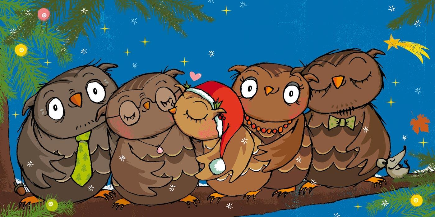 Die kleine Eule feiert Weihnachten